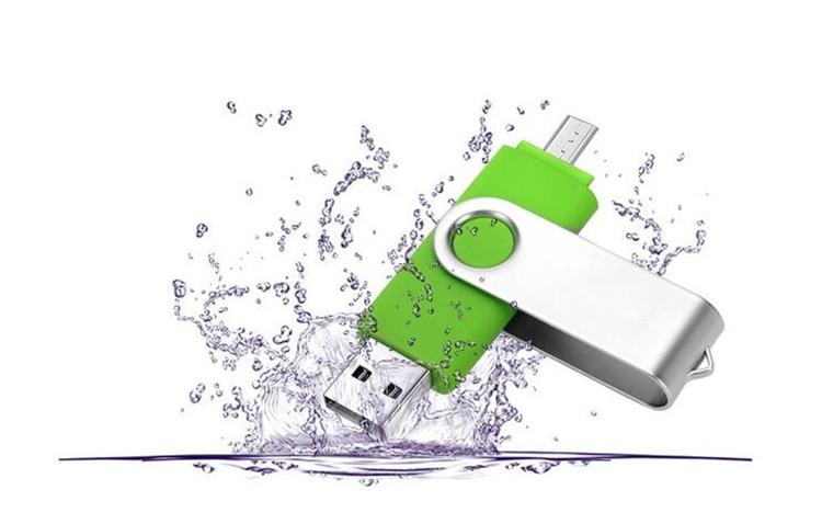 fashion Capacidade total OTG usb flash drive pen drive 64 GB 32 GB 8 GB 16 GB dupla externa do smartphone stick usb pendrive