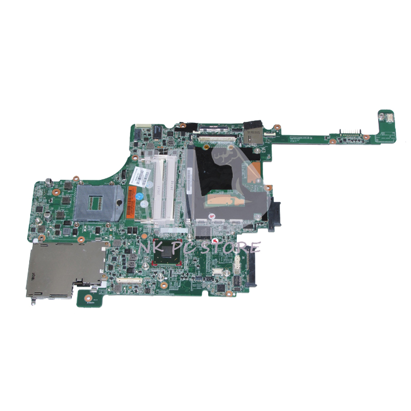 NOKOTION 690643-001 Main Board For Hp Elitebook 8570W Laptop Motherboard DDR3 HD4000 J8A with graphics slot free shipping 690643 001 motherboard for hp elitebook 8570w system board main board hd4000 j8a with graphics slot 100