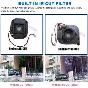 Image 3 - Samr AHD caméra HD 720P 1080P caméra de Surveillance CCTV balle extérieure maison caméra vidéo 30 pièces infrarouge led filtre à IR CUT
