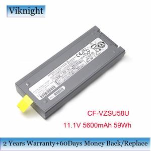 Image 1 - Original CF VZSU58U Battery For PANASONIC Laptop Battery CF VZSU48 CF VZSU48R CF VZSU58U 11.1V 5600mAh 59Wh