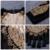 2017 nova Mulheres Casacos Básicos Luxo Ouro Frisado preto Longo Borlas manga malha lantejoulas O pescoço Celebridade Pista Jaqueta de Veludo casacos