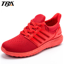 TBA Lovers Sport Shoes Woman Man Brand Breathable Fabric Sport Run Athletic Shoes High Elastic Men's Women's Sneakers Size 35-45