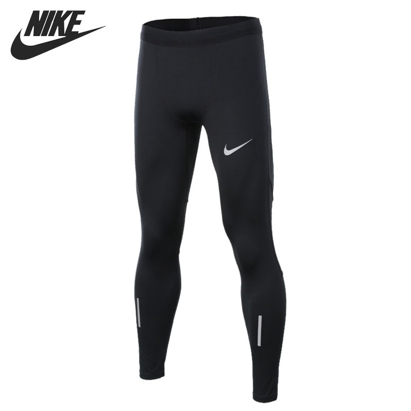 Original New Arrival 2018 NIKE TECH TGHT Men's Tight Pants Sportswear xl to xxxl fleece solid black