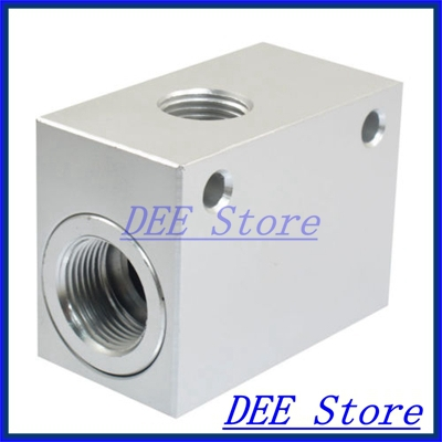KKP-15 G 1/2 Thread Air Operating One Way Silver Tone Quick Exhaust Valve
