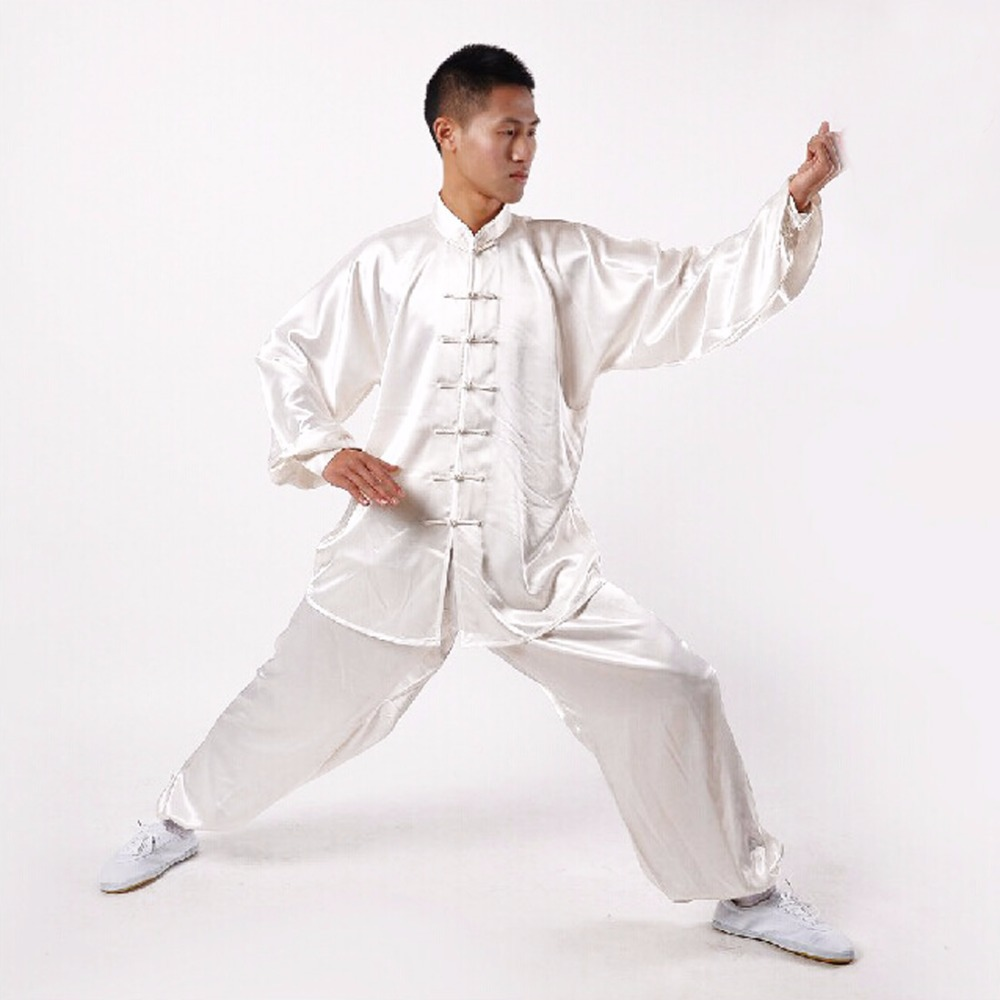 Andux Tai Chi Exercises Clothing Kong Fu Master Costume Martial Arts Wear Suits