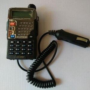 Image 1 - מכשיר קשר אביזרי 12V BAOFENG UV 5R מטען לרכב הסוללה Eliminator מתאם עבור נייד רדיו UV 5R UV 5RE בתוספת UV 5RA