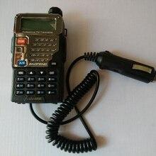 Walkie Talkie Accessoires 12V Baofeng UV 5R Autolader Batterij Eliminator Adapter Voor Draagbare Radio Uv 5R UV 5RE Plus UV 5RA