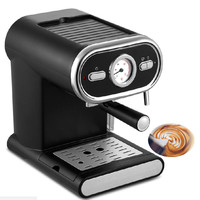 20BAR Italian Coffee Machine Semi automatic Home Commercial Visual Temperature Control Coffee Making