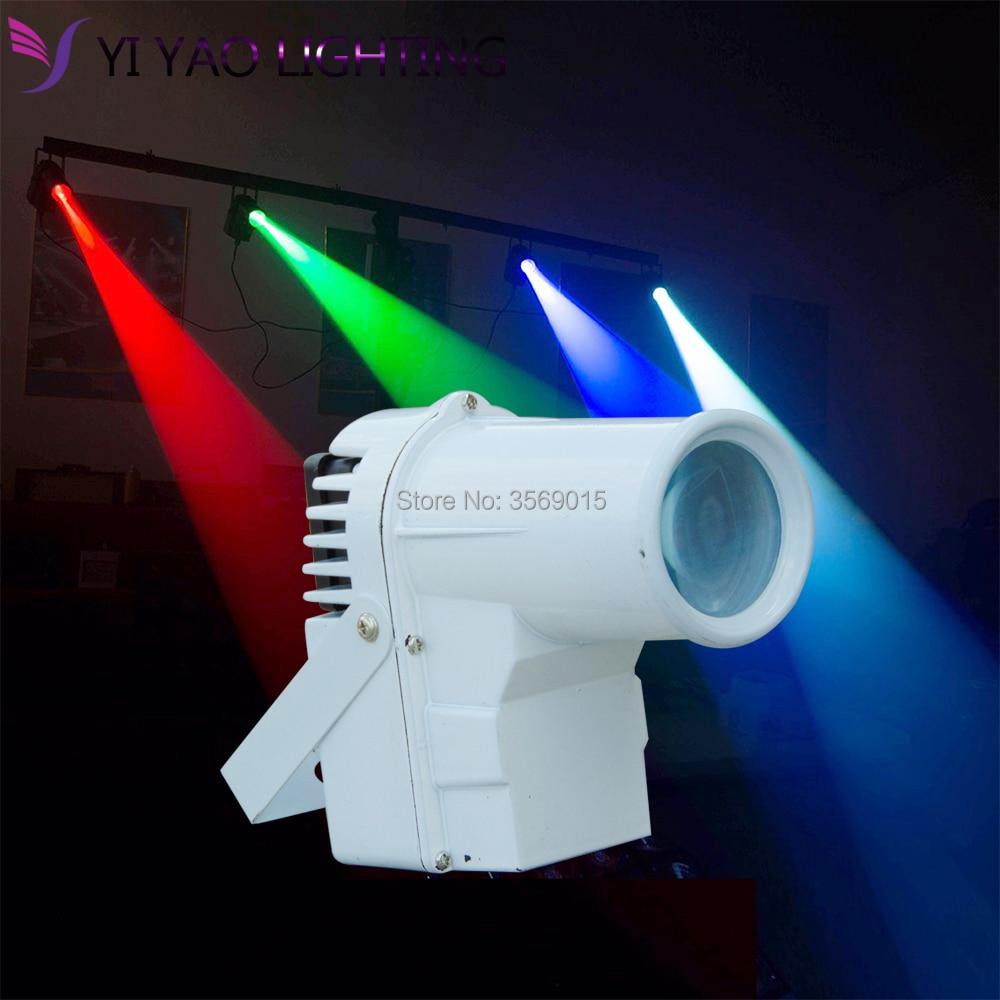 10W LED RGBW Beam Pinspot Spotlight Super Bright Lamp Stage Lighting DJ10W LED RGBW Beam Pinspot Spotlight Super Bright Lamp Stage Lighting DJ