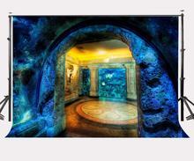 150x220cm Beautiful Aquarium Backdrop Shark Reef Photography Background