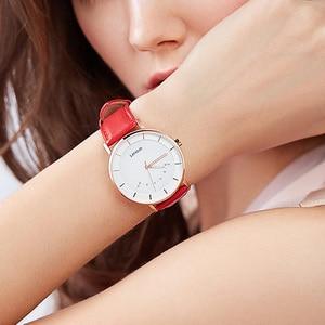 Image 3 - 레노버 스마트 시계 패션 쿼츠 시계 시계 지능형 알림 50M 방수 긴 배터리 수명 스포츠 Smartwatch