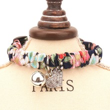 Cats Collars bell necklace Small Dogs Puppy Accessories For Pets Product Kitten Chihuahua collier chat avec grelots