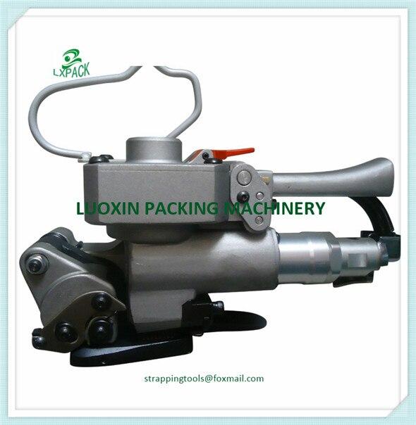 Livraison Gratuite XQD-19 De Poche Pneumatique Polypropylène PET Cerclage Outil En Plastique Cerclage Emballage Machine 13-19mm poly sangle