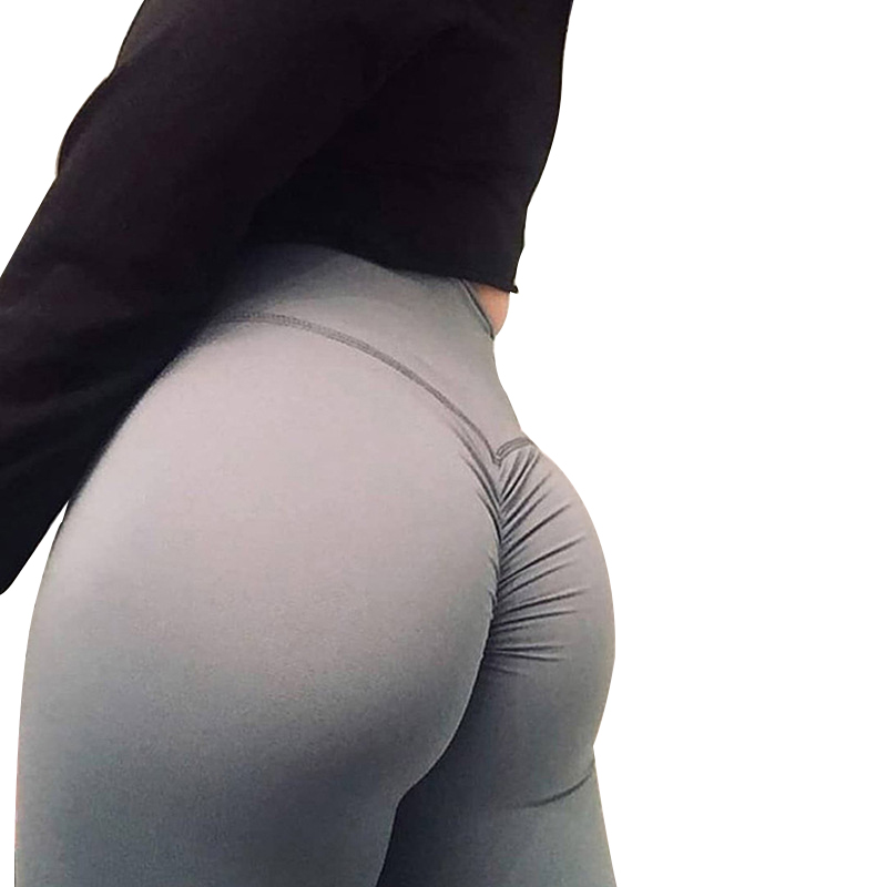 Six-Color Women   Legging   Polyester High Quality High Waist Push Up Elastic Casual Workout Fitness Sexy Pant Bodybuilding   Leggings