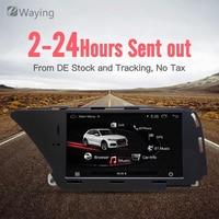 Ewaying 7 Android 4,4 1 г + 16 г автомобиля мультимедиа для AUDI A4 S4 A5 S5 (2008 2016 B8) Q5 (2010 2016) Bluetooth gps навигации