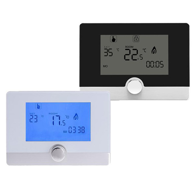 Online Shop Programmable Digital Room Thermostat for Wall-hung Gas ...