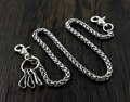 Basic Strong Twisted Biker Trucker  Wallet Chain Anti theft Safe chain WC39