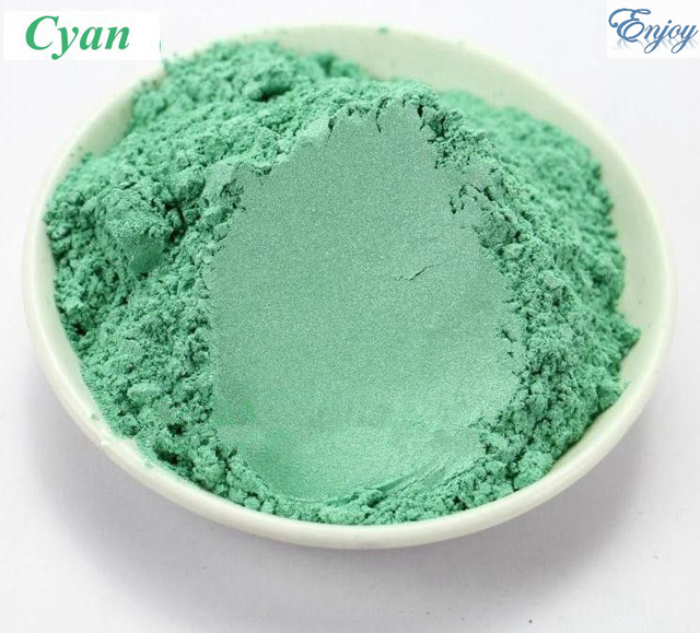 500g/bag make up Multicolour  Pearl Powder Cyan color  Mica powder Pigment Glitter Pearlescent  Powder For DIY Eyeshadow