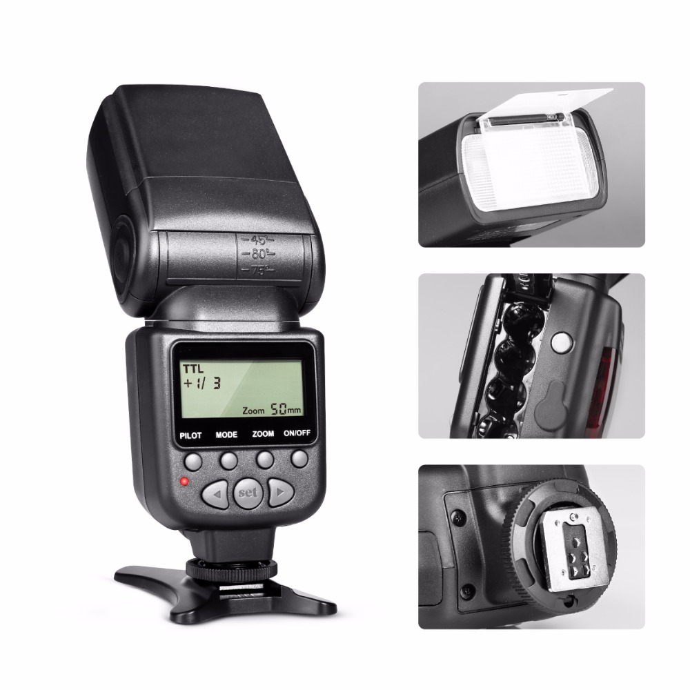 Meike Mk950 E Ttl Speedlight Camera Flash For Canon 1300d Eos 5d And Screen On Disposable Circuit Schematic Ii 6d 7d 50d 60d 70d 550d 600d 650d 700d 580ex 430ex Gift In Flashes From Consumer