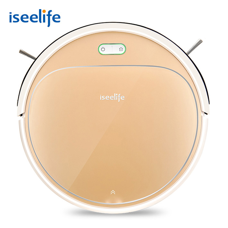 ISEELIFE 1300PA Smart Robot Vacuum Cleaner 2 in 1 for Home Dry Wet Water Tank Auto Charge PRO3S for Pet Hair CleaningISEELIFE 1300PA Smart Robot Vacuum Cleaner 2 in 1 for Home Dry Wet Water Tank Auto Charge PRO3S for Pet Hair Cleaning