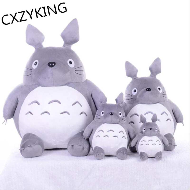 CXZYKING 20/30CM Cartoon Stuffed My Neighbor Totoro Plush Toys Gifts Toys For Children Soft Toy For Kids Gift Animation Doll Toy stuffed animal 44 cm plush standing cow toy simulation dairy cattle doll great gift w501