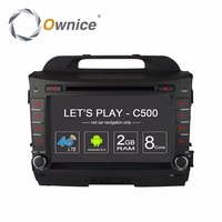 Ownice C500 Android 6.0 Octa 8 Core car dvd player FOR KIA sportage r 2011 2015 gps navi 2 din wifi 4G 2GB RAM 32GB ROM