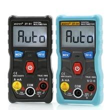 S1 dijital multimetre ölçü aleti otomatik çevirme gerçek Automotriz Mmultimetro akıllı NCV veri LCD arka +