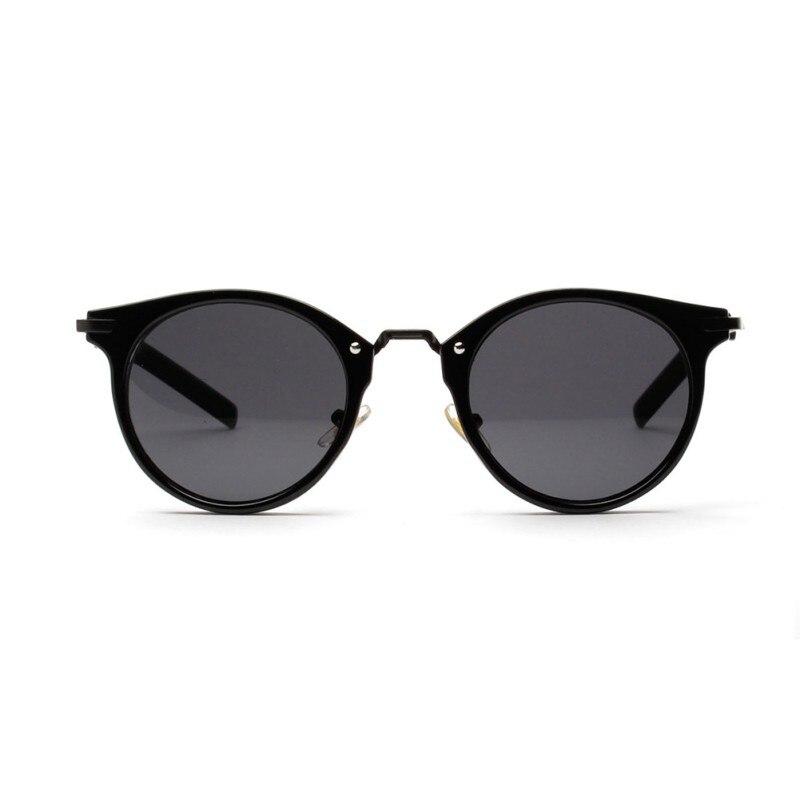 3cc7facdb0 Vintage Women Men Steampunk Brand Design Round Sunglasses UV400 ...