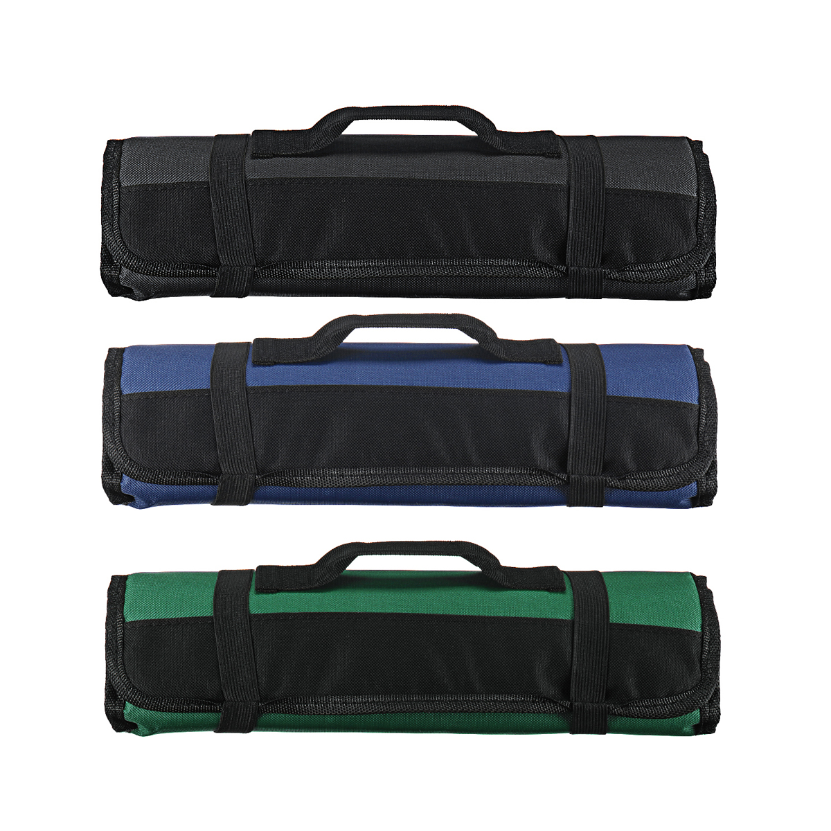 Knife-Bag Roll-Bag Durable-Storage Chef 22-Pockets Choice Kitchen Black Cooking Portable
