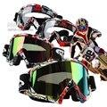 2016 Nuevas Gafas de Motocross Gafas Gafas Ciclismo MX off road Cascos Máscara Gafas de Deporte Gafas de Esquí Para La Motocicleta Bici de La Suciedad