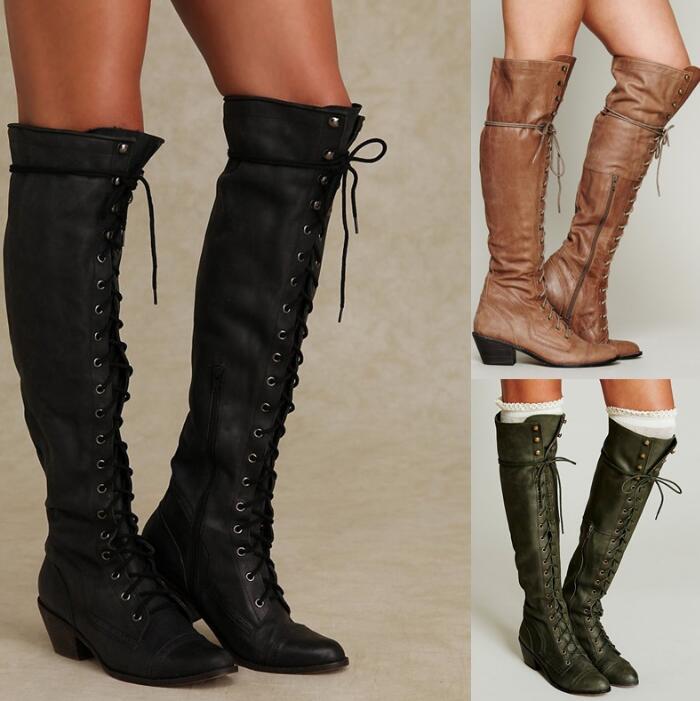 4fda322af5 Cross Spike Tied Ab0037 Sobre Sapato Botas Zapatos Señoras Girls Moto Mujer  Heel Feminino Botines Remaches ...