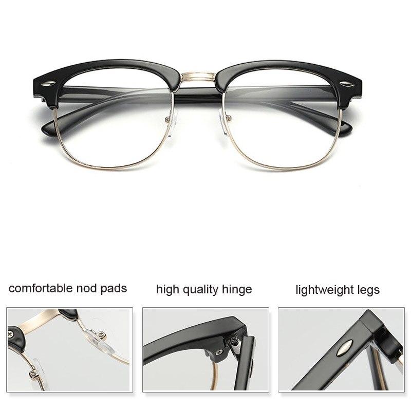Platz Brillen Rahmen Optische Spektakel Rahmen Marke Männer Klare ...
