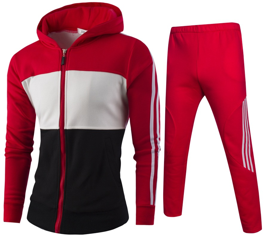 Mens Tracksuit Set 2018 Sportswear Exercise Polo Suit Autumn Winter Men Sweatshirt Jogger Pants Set Sudaderas Hombre Size M 4xl in Men 39 s Sets from Men 39 s Clothing