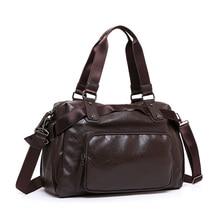 Antifreeze Briefcase Soft Leather Mens Handbags Male Multifunction Men Handbag Business Bag Handbag Men Large Tote