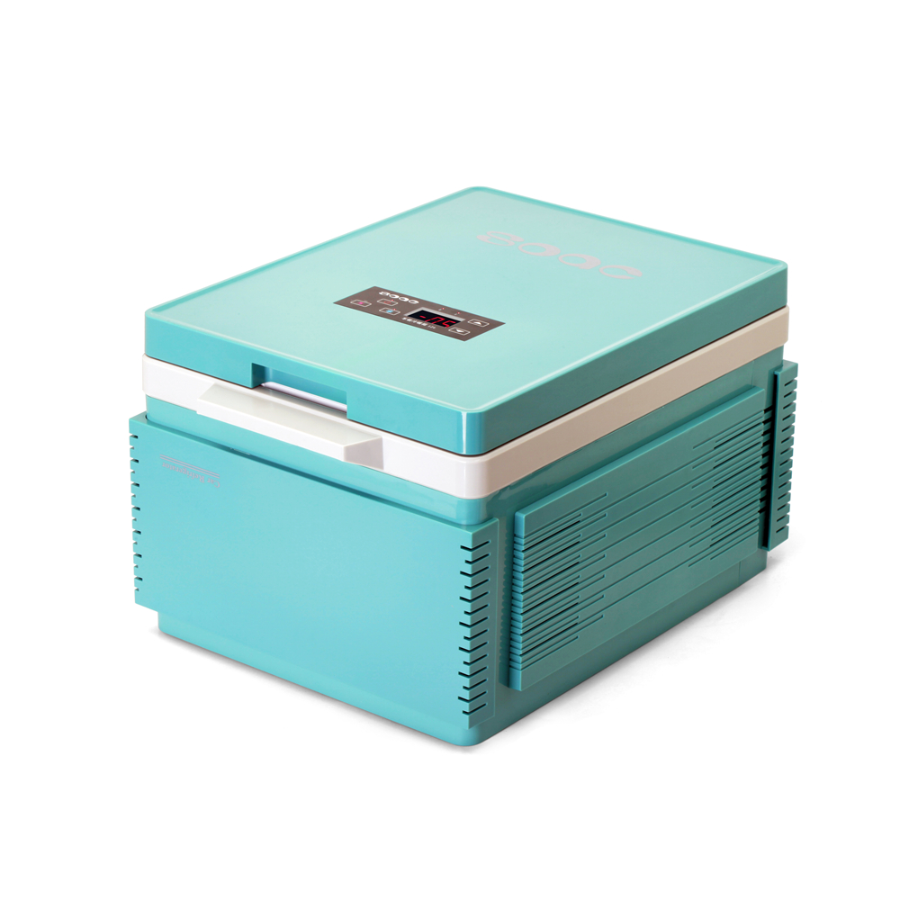hot mini fridge 12v 96w car home dualuse freezer auto supplies 12l portable for