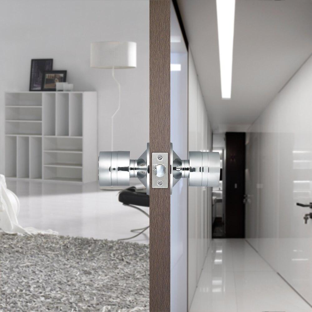 Digital Door Lock Password Keyless Keypad Door Coded Lock Waterproof Privacy Safe Smart Digital Room Combination Door Lock Home - 2