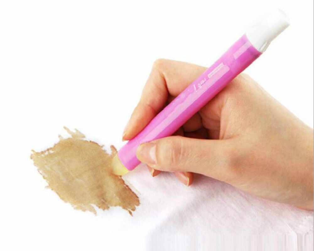 Cleaning Brushes Portable Clothes Instant Stain Remover Pen Grease Detergent Emergency Decontamination Stick