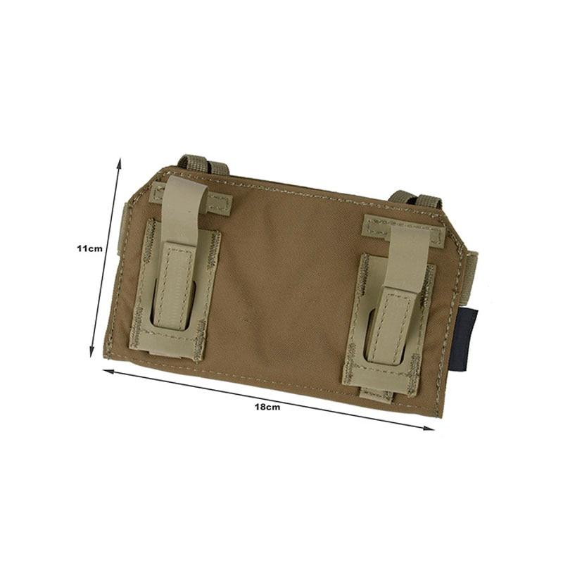 CB Tactical CPC JPC AVS Vest Special Front Panel Attachment Mobile Phone Bag TMC MT Admin Pouch