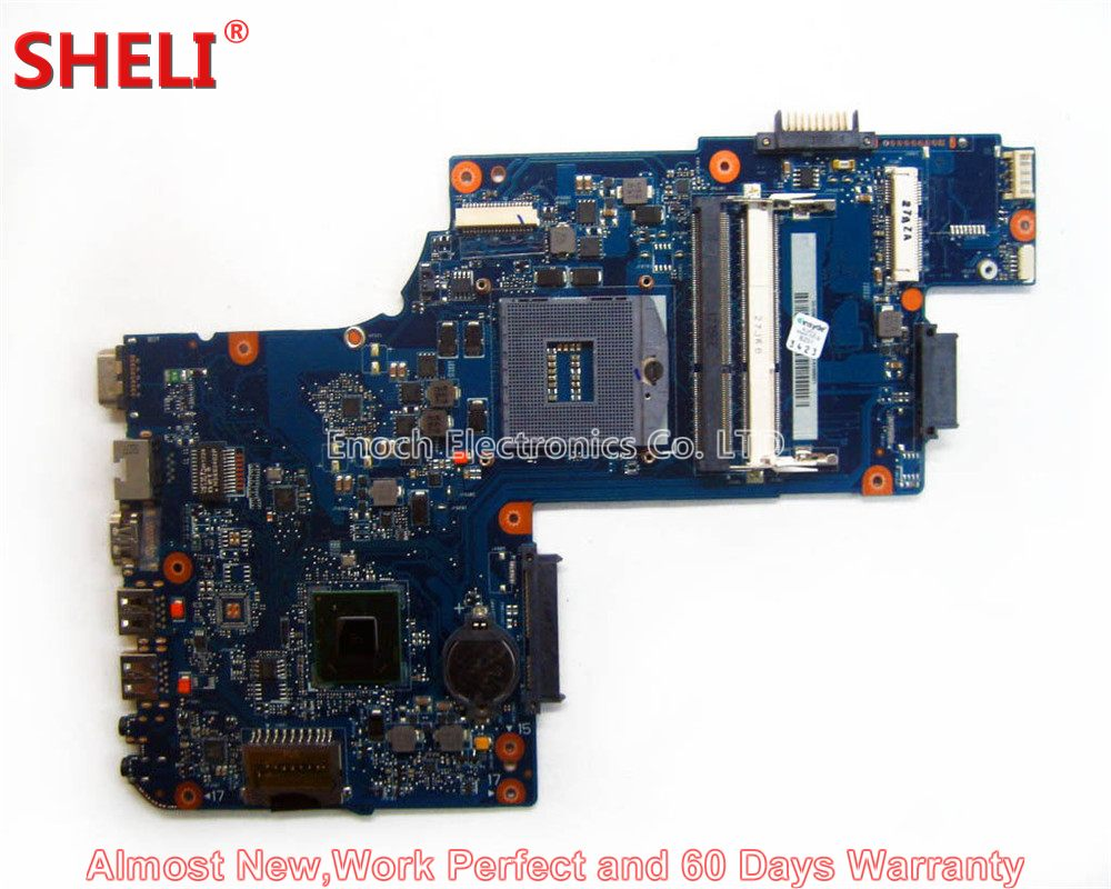 SHELI NEW H000038360 Laptop Motherboard For Toshiba Satellite C850 C855 L850 L855 PLF/PLR/CSF/CSR UMA HD 4000 Main Board Works sheli new h000038420 laptop motherboard for toshiba satellite c850 c855 l850 l855 plf plr csf csr hm76 hd 7610m main board works