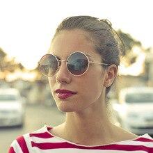 XIWANG Retro-Archaic Circular Frame Metal European And American Fashion Sunglasses Men WomenS Universal 8832U