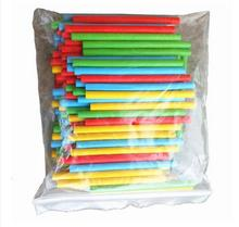 100pcs Stick Figures Count Arithmetic Calculator Arithmetic Rack Children Mathematics Teaching Aids Learning Count Stationery