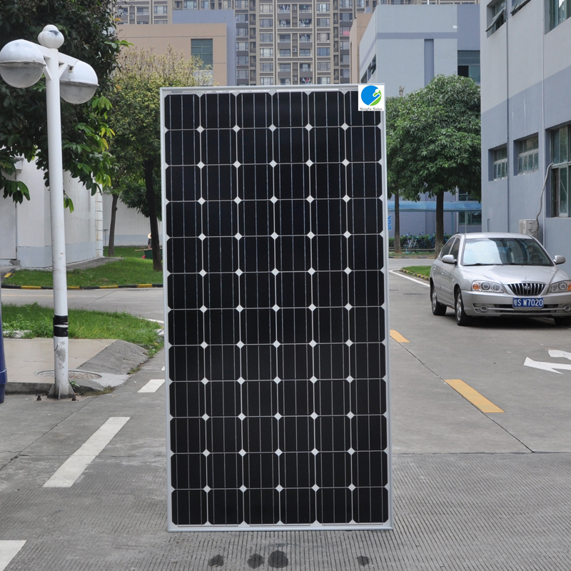 TUV Sea Ship  A Grade Cell Solar Panel 350w 36v 10 Pcs Battery Charger Home System 3500W 3.5KW Floor Roof