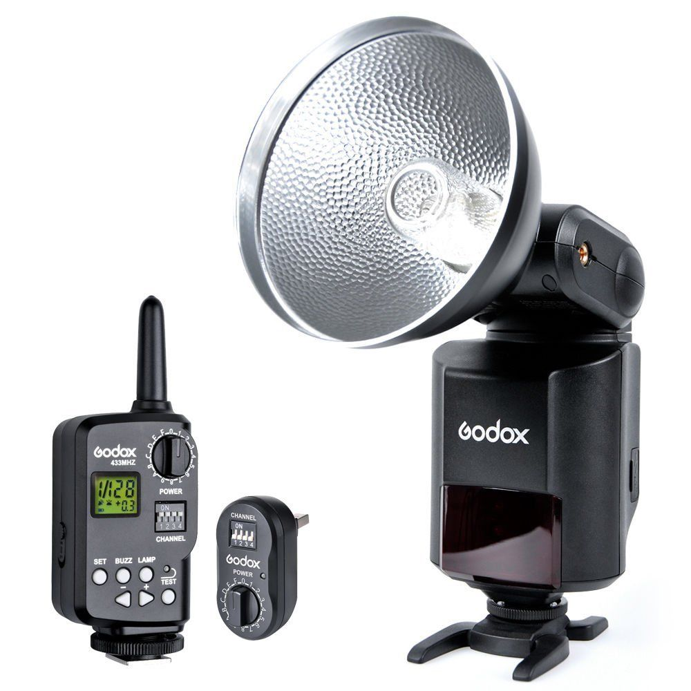 Godox Witstro AD-360 S1/S2 Bare Tube Flash Speedlite + PB960 Battery Power Pack free tax to russia new 42cm godox ad s3 beauty dish with grid for witstro speedlite flash ad180 ad360