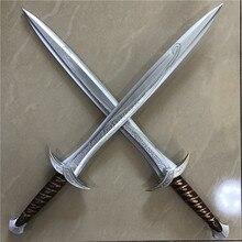 1:1 косплей,, меч из фильма Хоббит Фродо Бэггинс, 72 см, меч из Стинга, детский подарок, безопасный материал из искусственной кожи