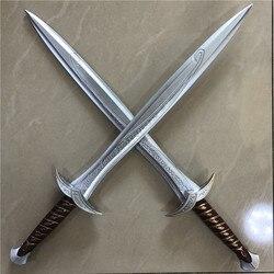 1:1 cosplay frete grátis espada filme senhor dos anéis o hobbit frodo baggins 72cm sting espada crianças presente segurança material do plutônio