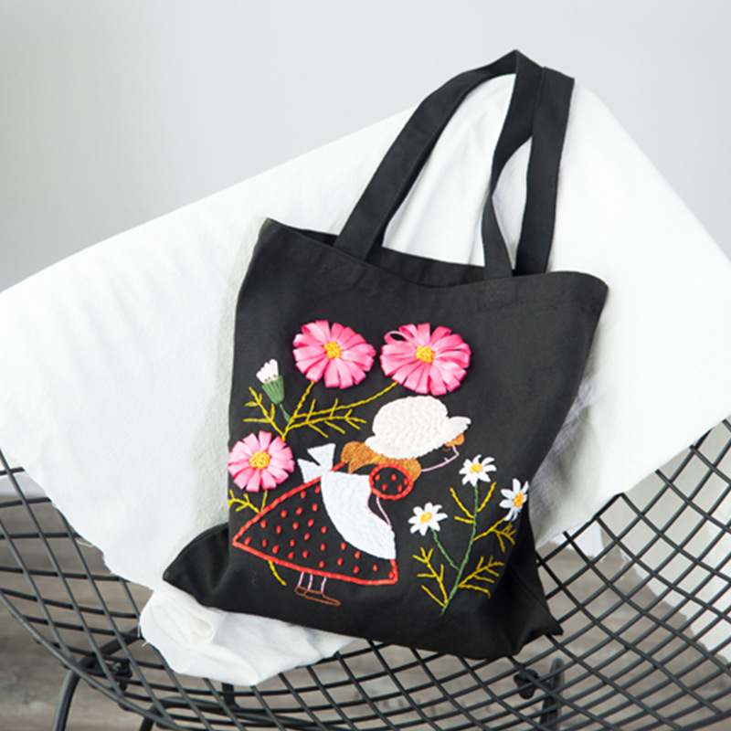 Detail Feedback Questions About New Diy Hand Embroidered Bag 3d