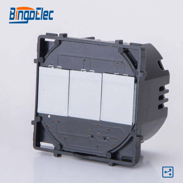 3gang 2way touch button electrical switch function part, no panel ...