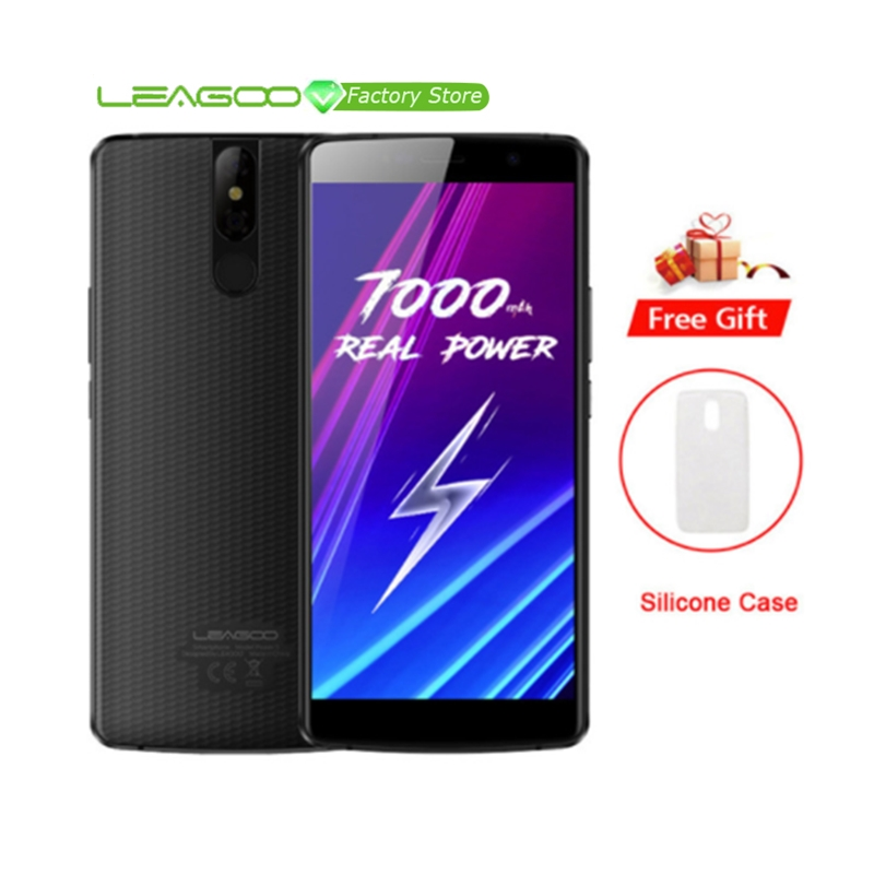 LEAGOO Power 5 Android 8 1 Dual Back Camera 4G Mobile Phone 7000mAh 5 99 FHD