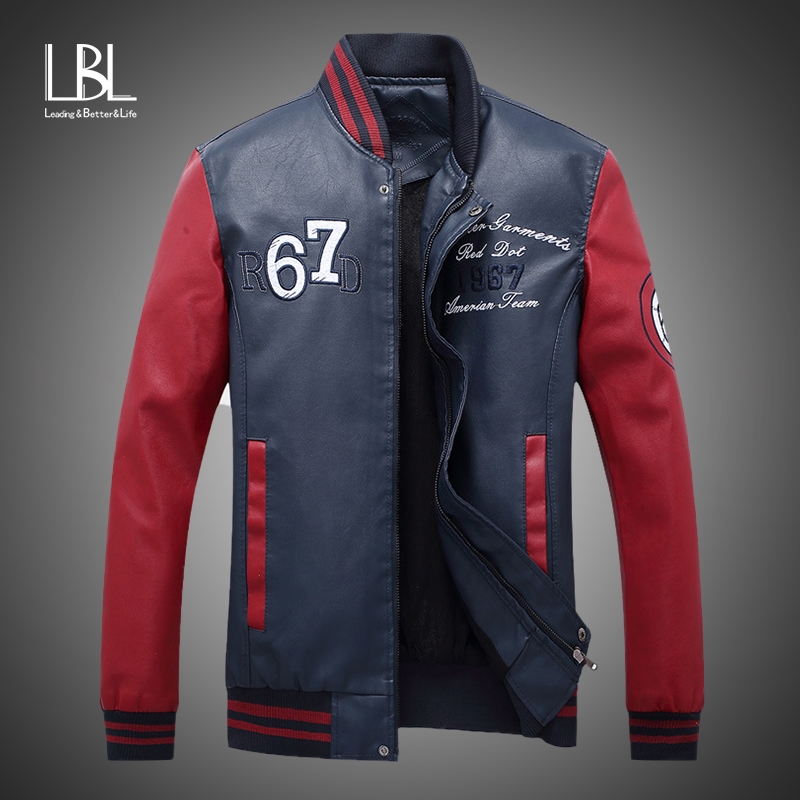 30c4f4e88 HOT SALE] New Red Baseball Jacket Men Veste Homme 2017 Mens Spring ...