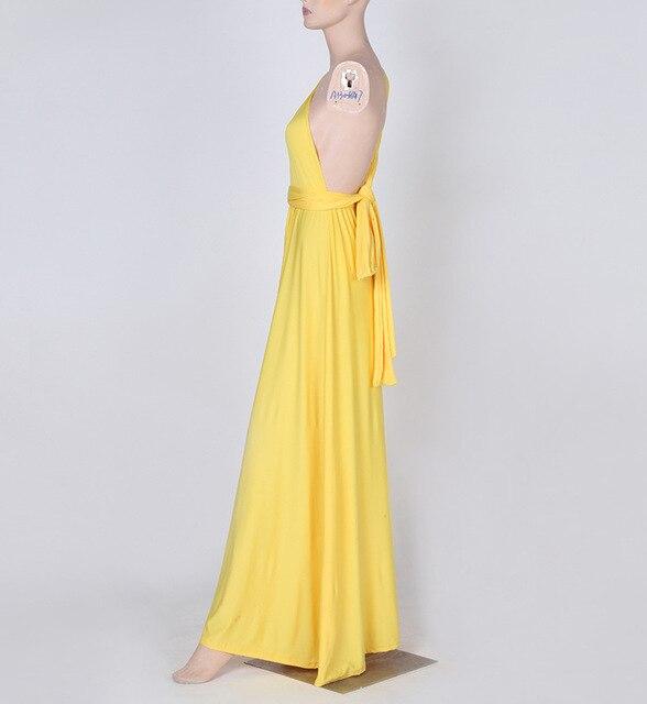 3506956b22583 Dress Women 2019 Long Summer Convertible Bohemian Dresses Casual Bandage  Evening Prom Club Party Infinity Multiway Maxi Dresses